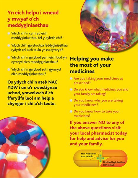 Poster check medication