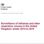 Cover of UK Flu Report 2014-5