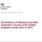 Cover of UK Flu Report 2014-5