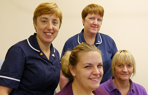 Nursing Staff at Llynyfran Surgery