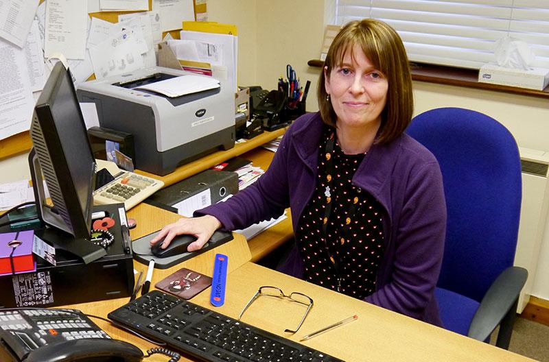 Practice Manager, Ann Johnson